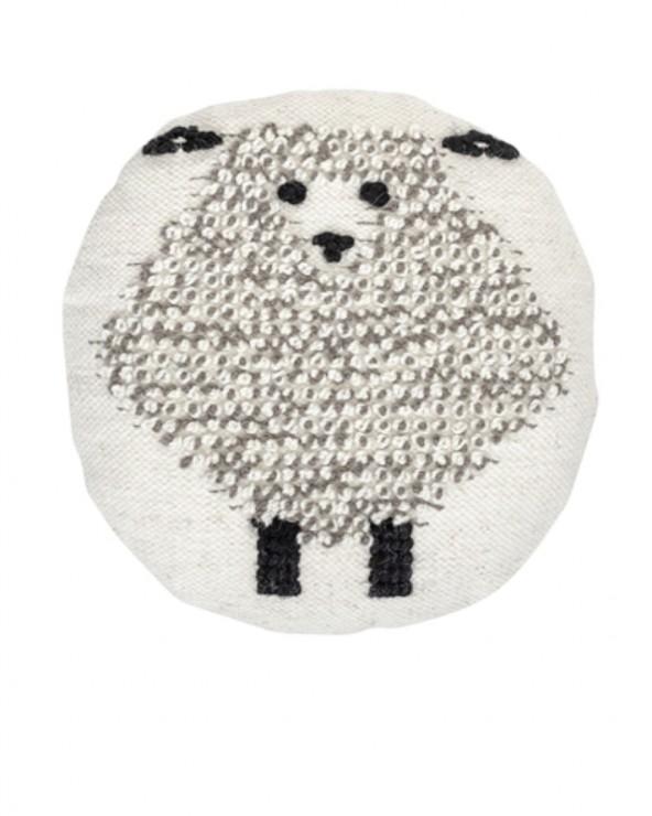 Kissen Wolle Schaf