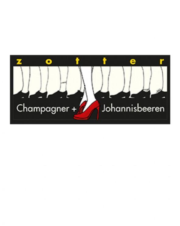 Champagner + Johannisbeere