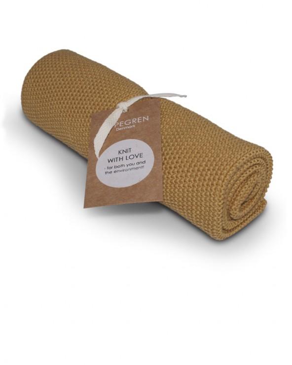 Handtuch mustard