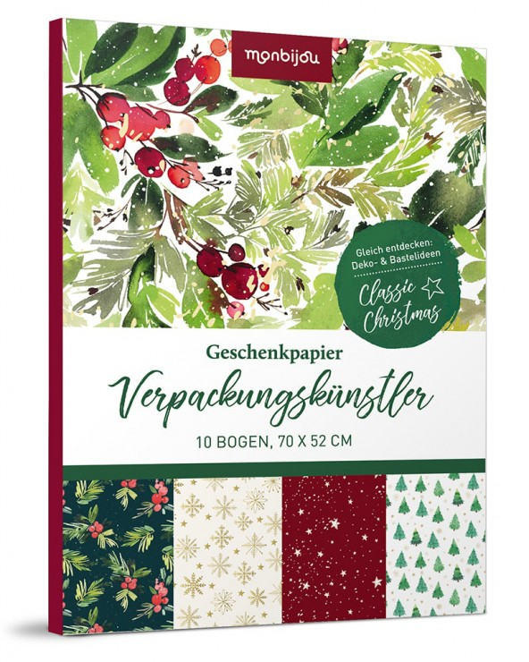 Verpackungskünstler Weihnachten