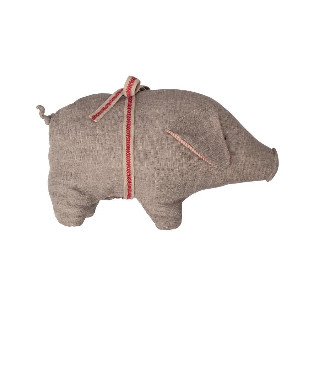 Schwein grau gross