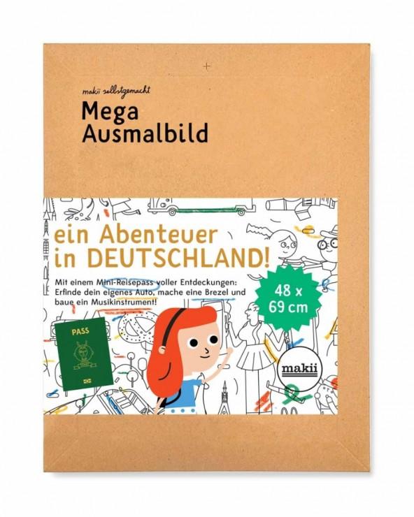 Ausmalbild Deutschland
