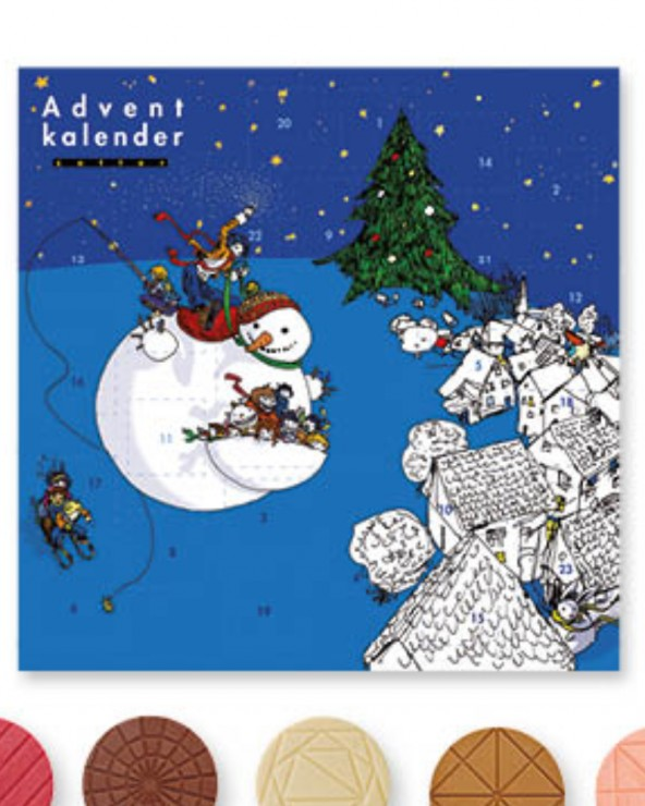 Mitzi Blue - Adventkalender