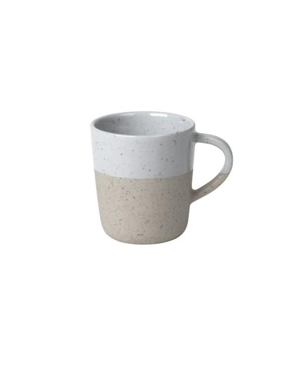 Espressotasse Sablo grau & beige
